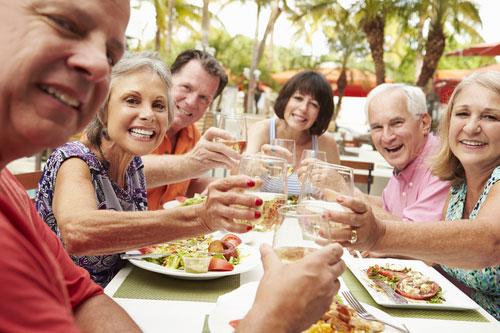 Une vie sociale à la retraite